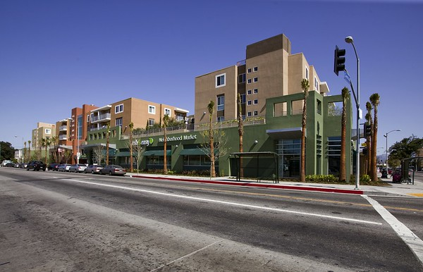 Adams & Central Mixed-Use Development, Los Angeles, Calif., 2010