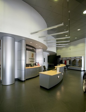 Porsche, Downtown L.A. Auto Group, Los Angeles, Calif., 2006