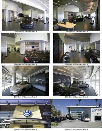 Porsche & Volkswagen, Downtown L.A. Auto Group, Los Angeles, Calif., 2006
