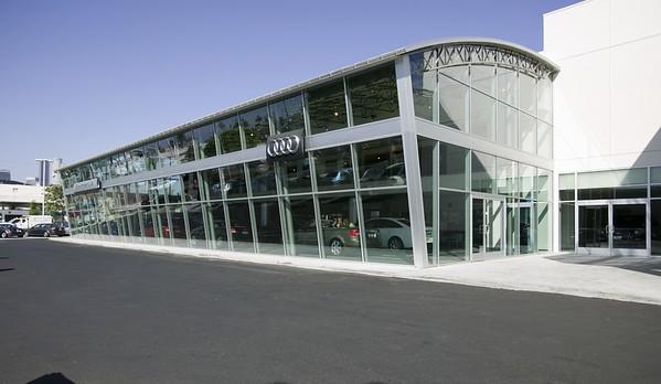 Audi, Downtown L.A. Auto Group, Los Angeles, Calif., 2006