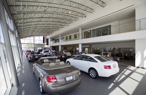 Audi, Downtown L.A. Auto Group, Los Angeles, Calif., 2006