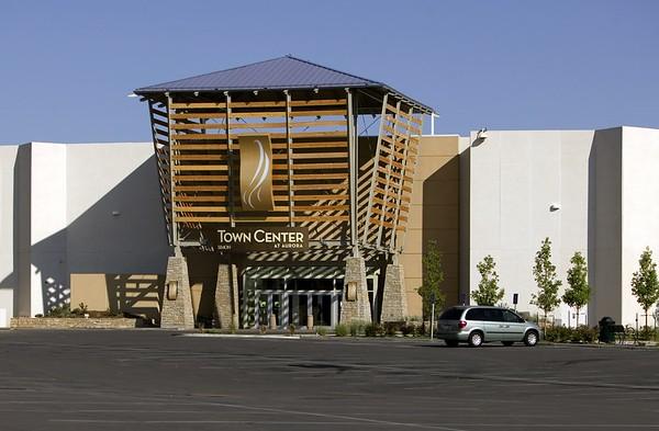 Town Center northeast entrance, Aurora, Colo., 2006