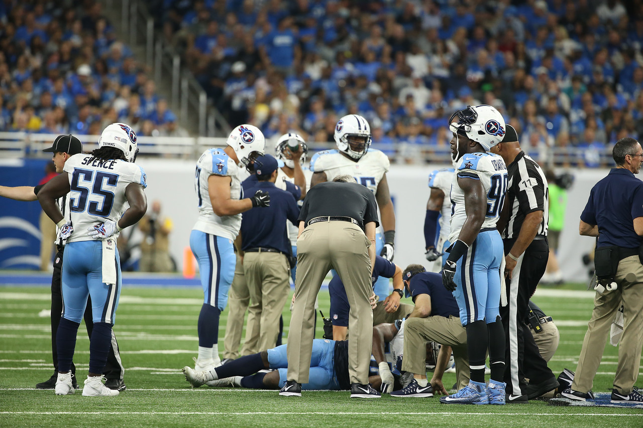 Tennessee Titans vs. Detroit Lions at Ford Field in Detroit, Michigan on September 18, 2016. Photos by Donn Jones Photography.