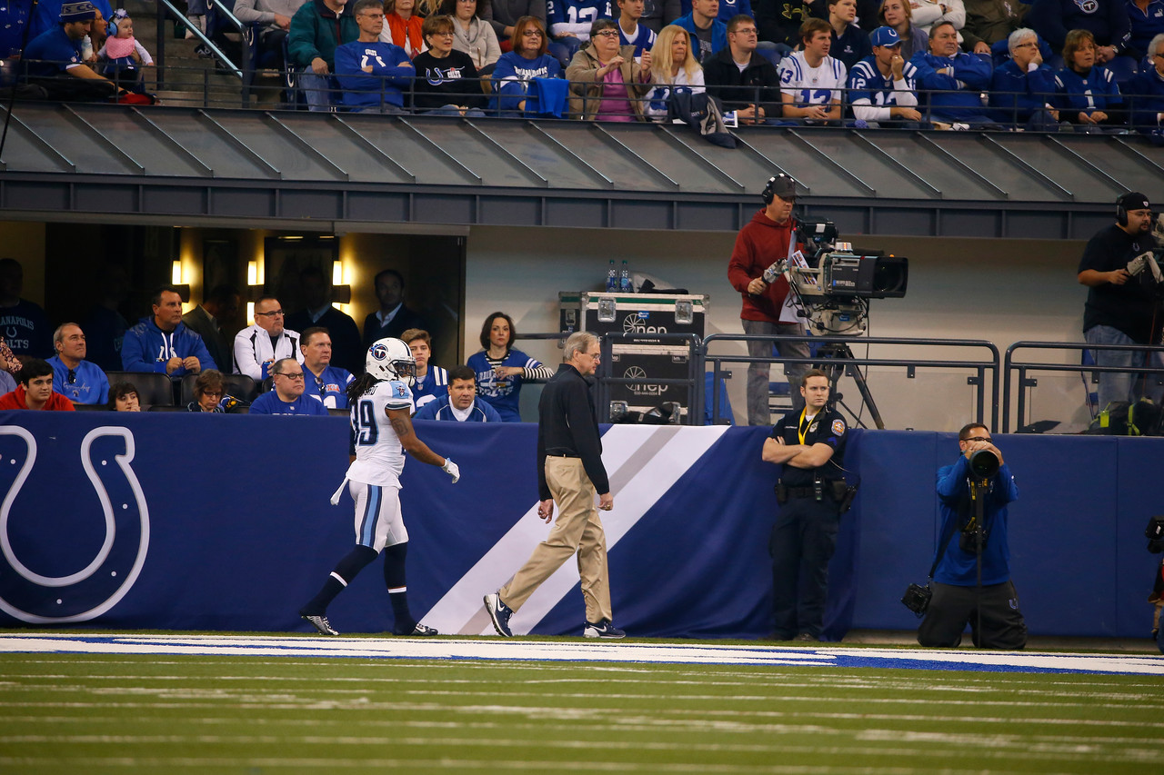 Tennessee Titans vs. Indianapolis Colts on Sunday, Jan. 3, 2016 at Lucas Oil Field in Indianapolis, Indiana.  Photos by Donn Jones Photography