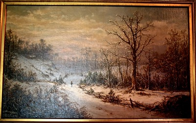 Painting hanging in the Dining of Glenmont