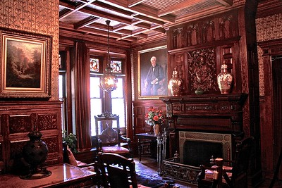 The Reception Room in Glenmont Thomas Edison Home