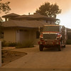 Thomas Fire, Ventura, CA, Los Padres NF and Cal Fire, 2017; Sundowners impact Montecito