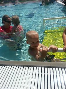 Summertime swim lessons
