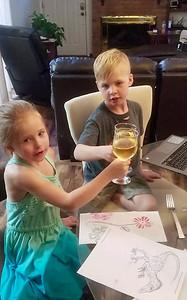 Kids Wine Toast