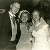 Tom McCarthy with his mother Lorene and bride Joyce