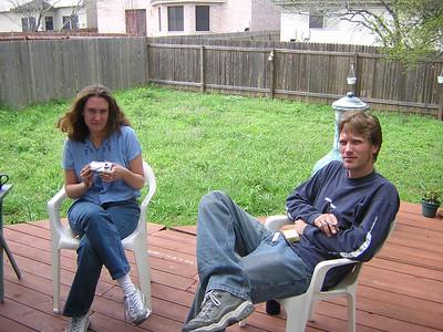 Diane & Nate Visit!