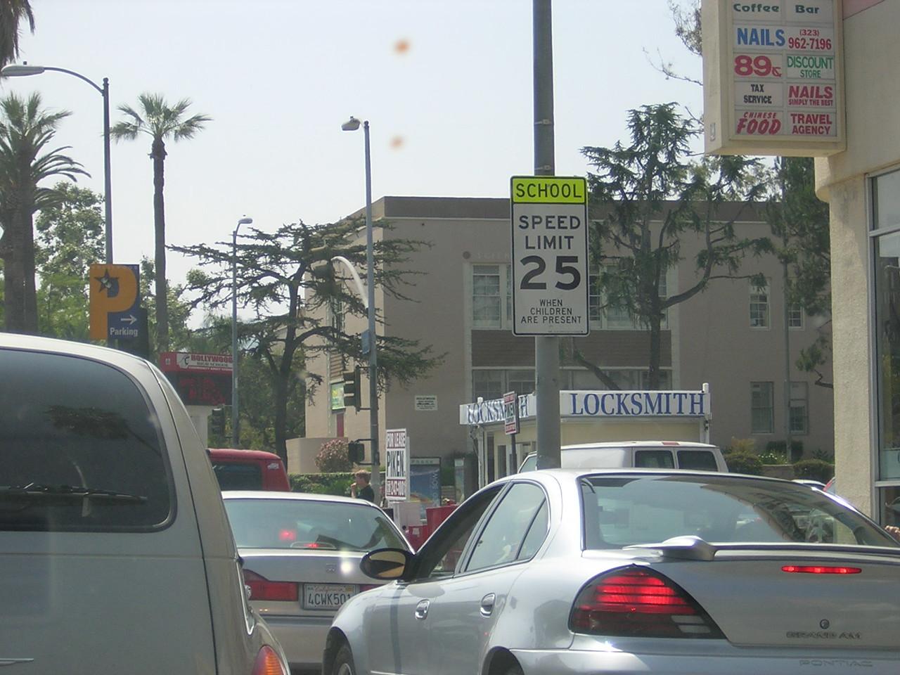 Sunset Boulevard (Hollywood High)nDSCN3160