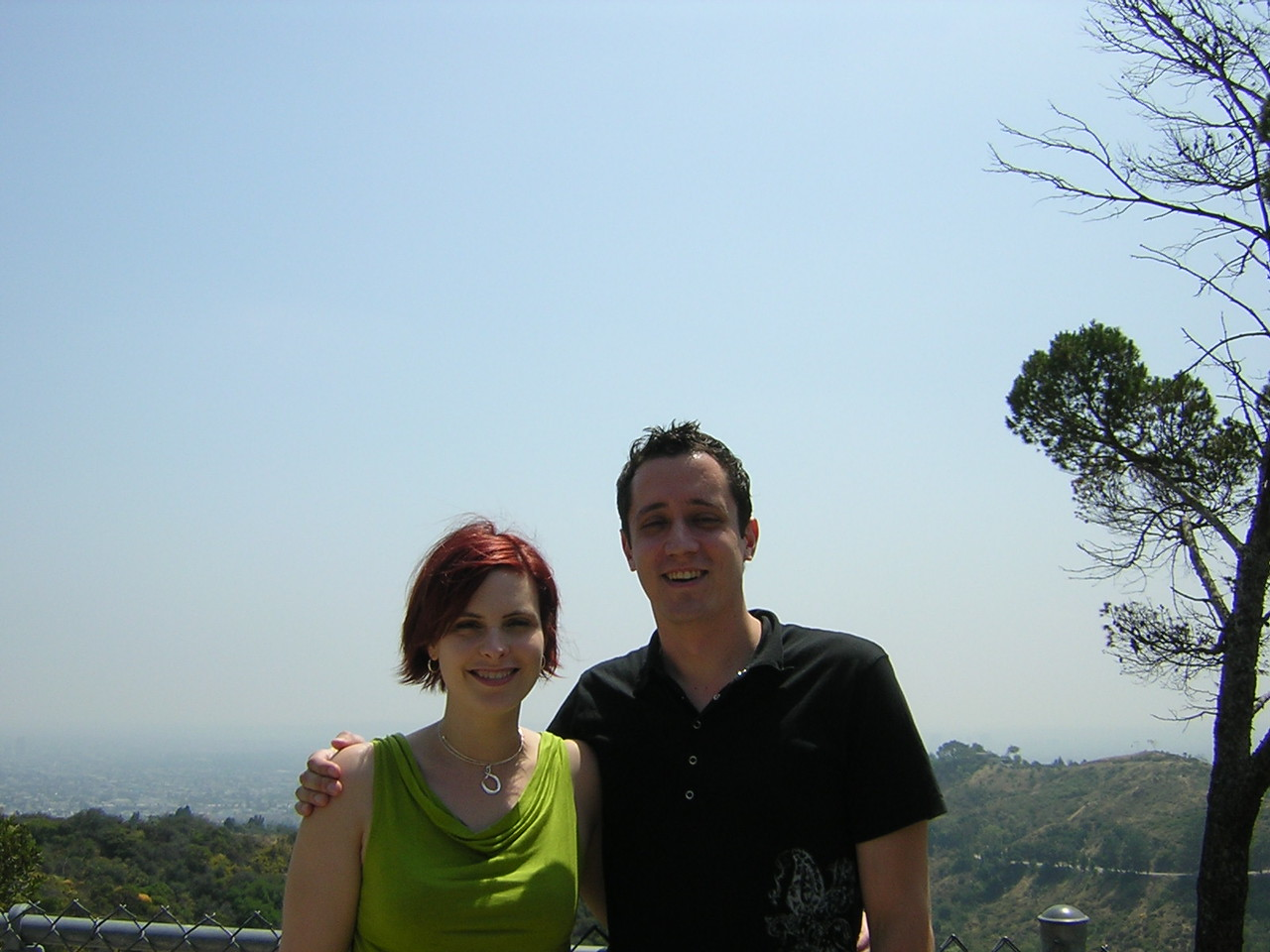 Griffith Park by the Observatory (which was unfortunately closed)nDSCN3154