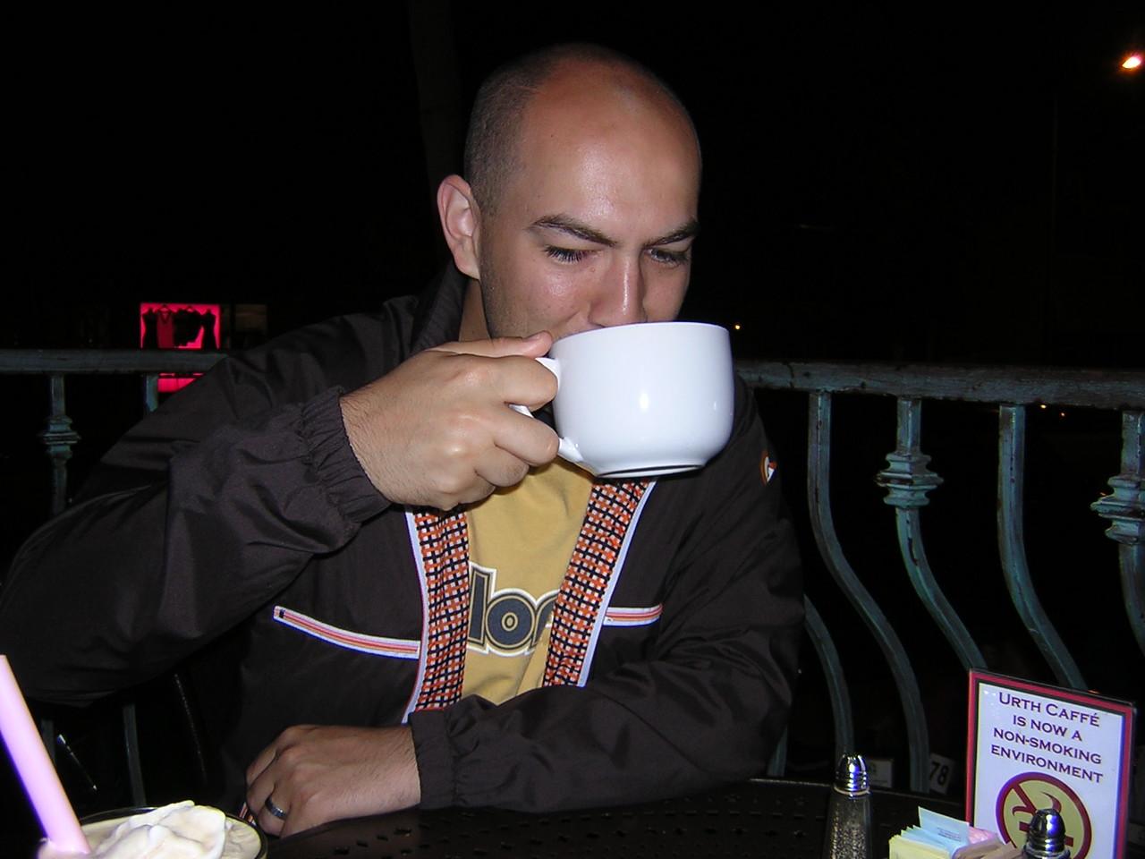 Brandon sipping his pretty little drinknDSCN3186