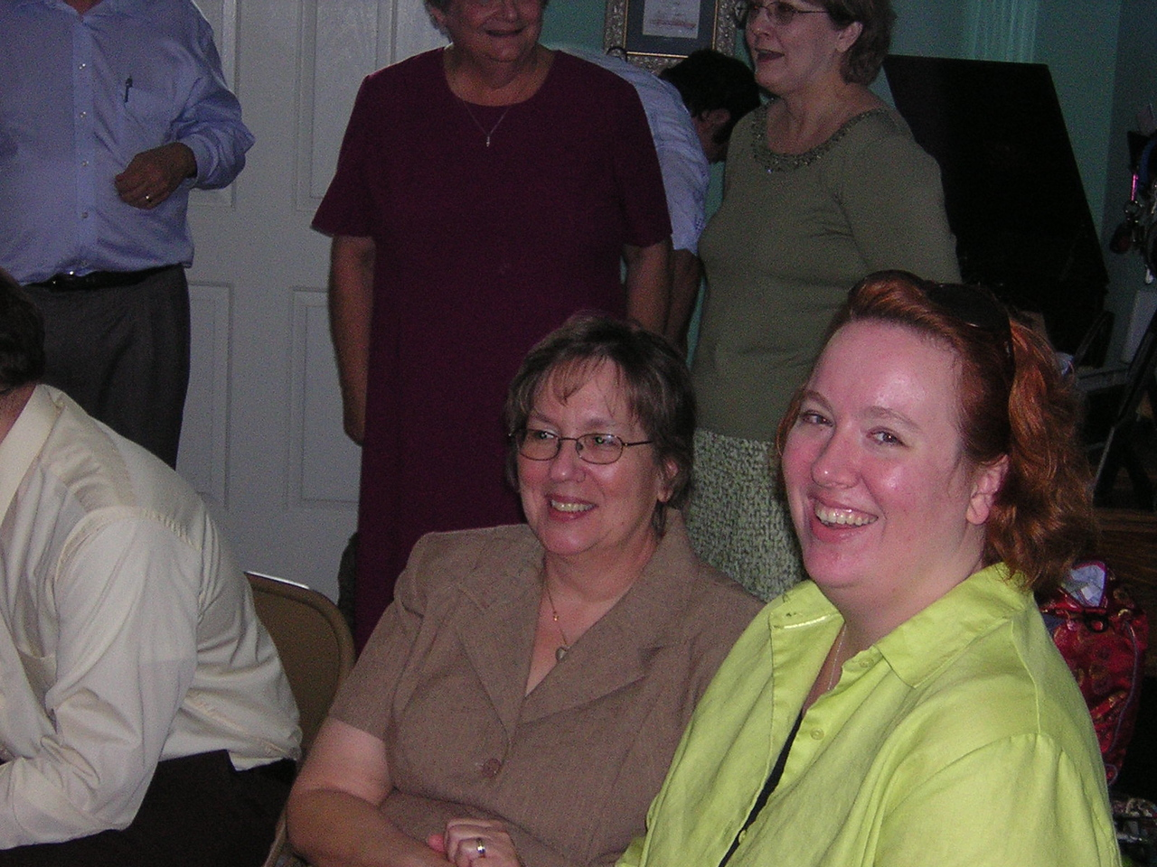 Mrs. Applegate and Sarah, who drove all the way from Houston!nDSCN5346.JPG