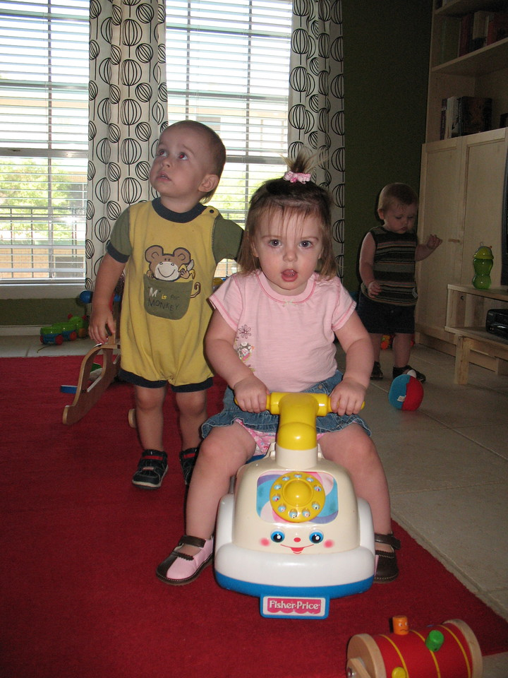The babies' band photo.  Should they ever start a band.
