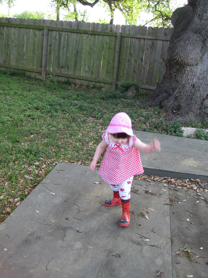 Stella boogies down