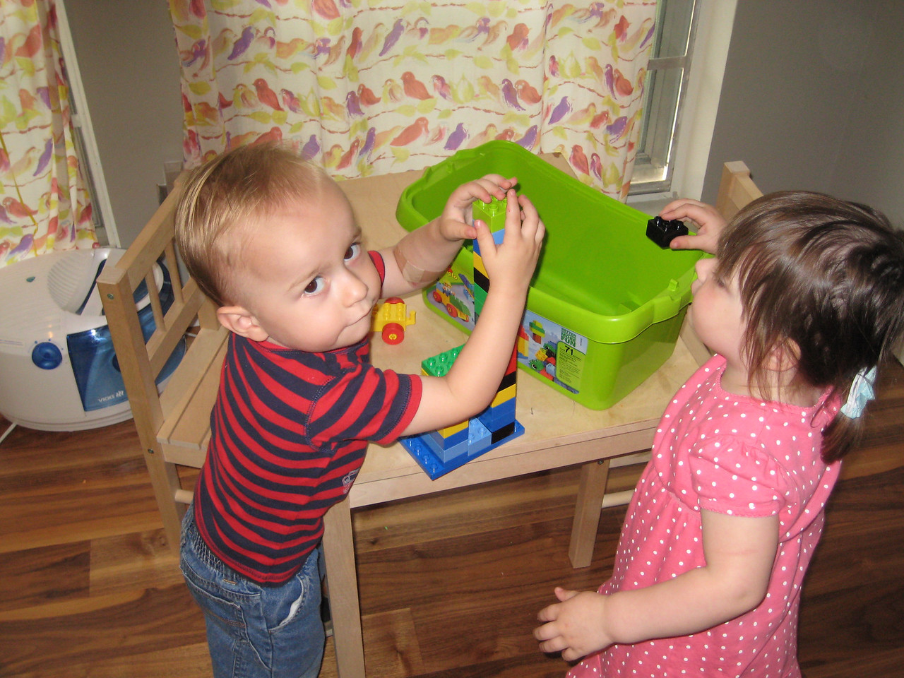 Henry and Stella building towers