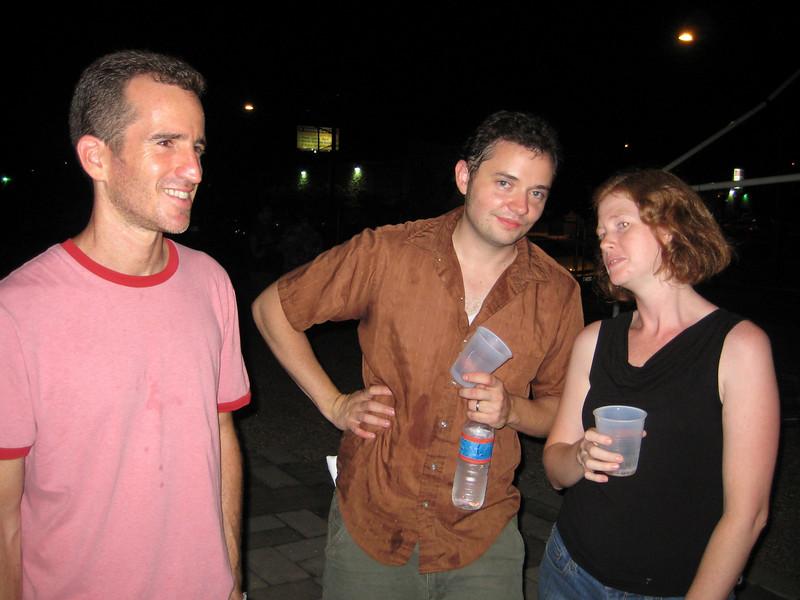 Max, Sean and Anna