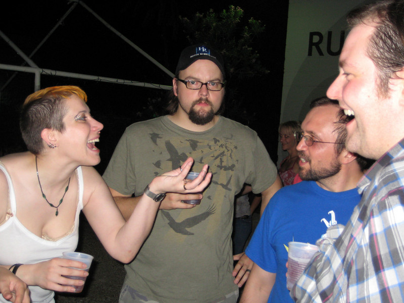 Beth, Ian King, Travis and Ian LeClair