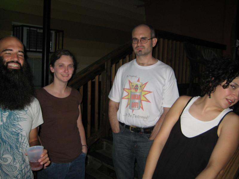 Bill, Emily, Mark and Jessica
