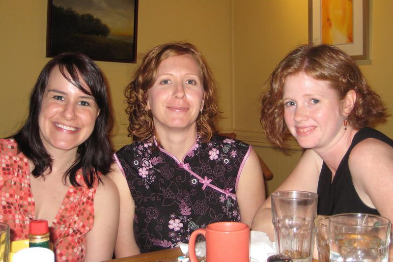 Ashley, Courtney and Anna