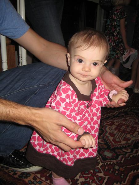 Etta enjoys the girly-fest