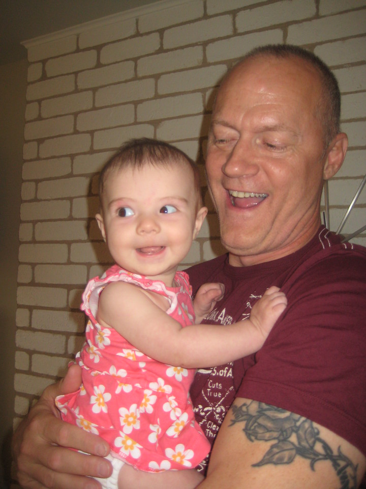 Etta brings on the cuteness for her Uncle Daniel
