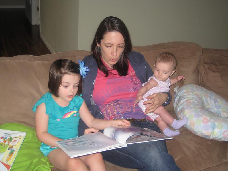 Reading with Aunt Caroline
