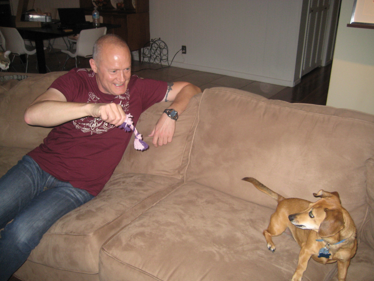 Lucy gets her own quality time with Uncle Daniel