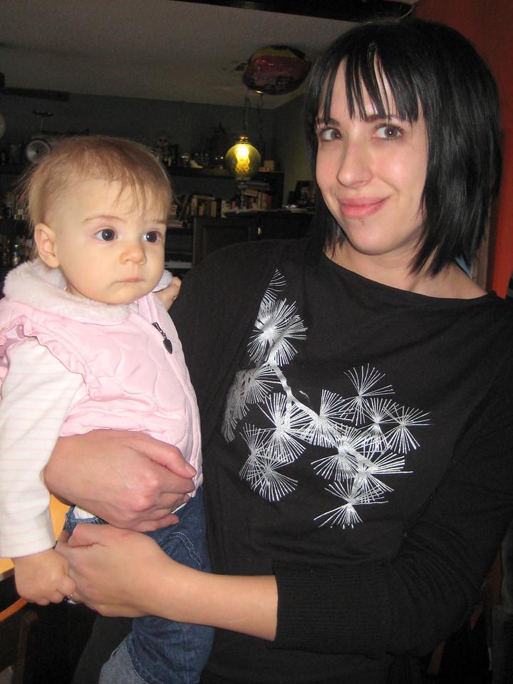 Etta and Becka at Elliot's birthday party
