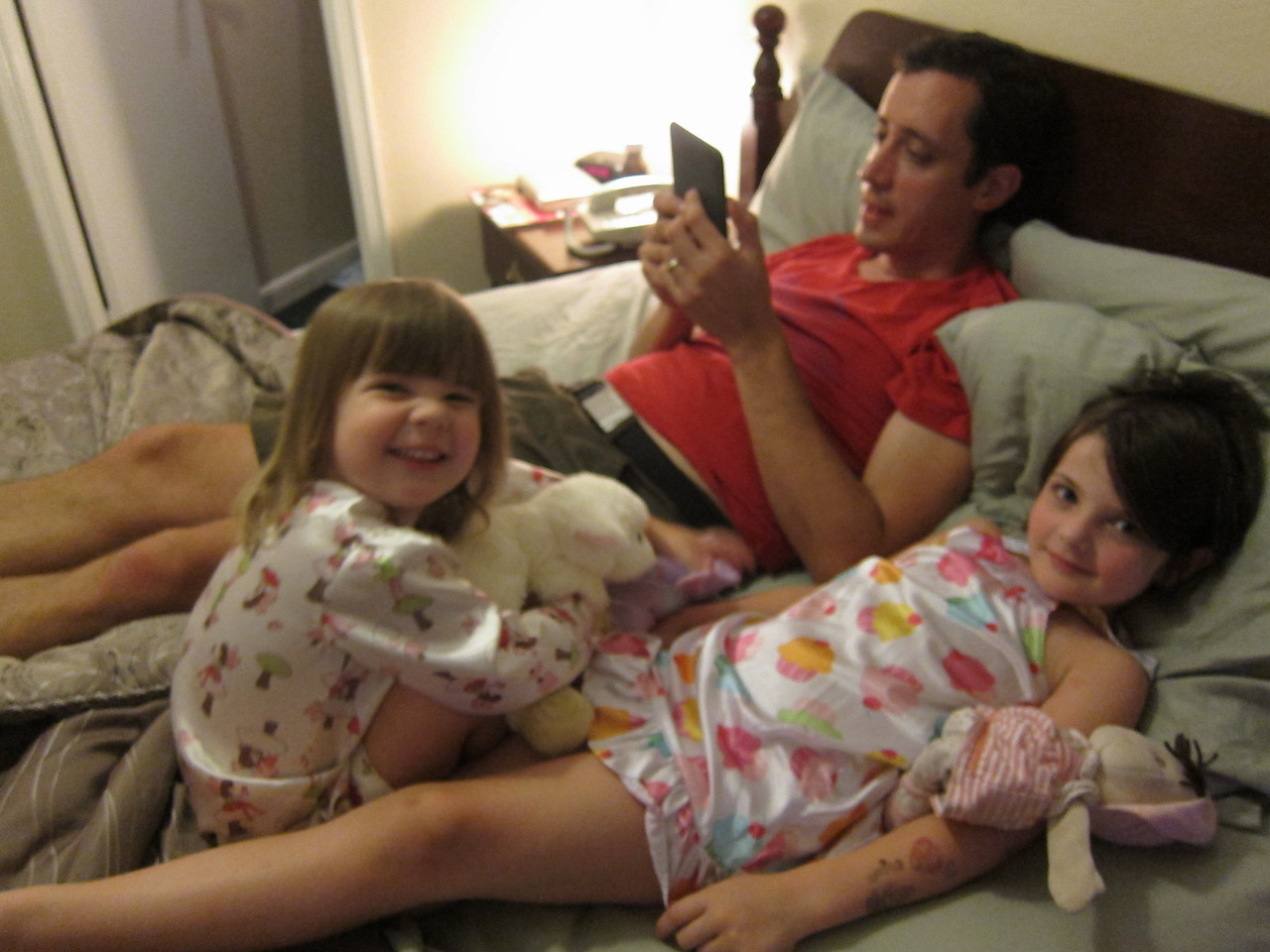 A bedtime story before we attempt Operation bed for Etta