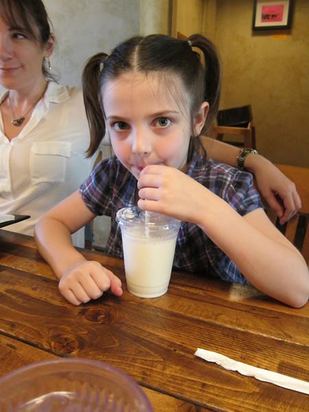 Pigtails n' milk