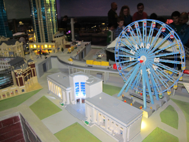 mini-Lego Dallas.  Stella rushed us right through there, although it may have been tim and i's favorite part