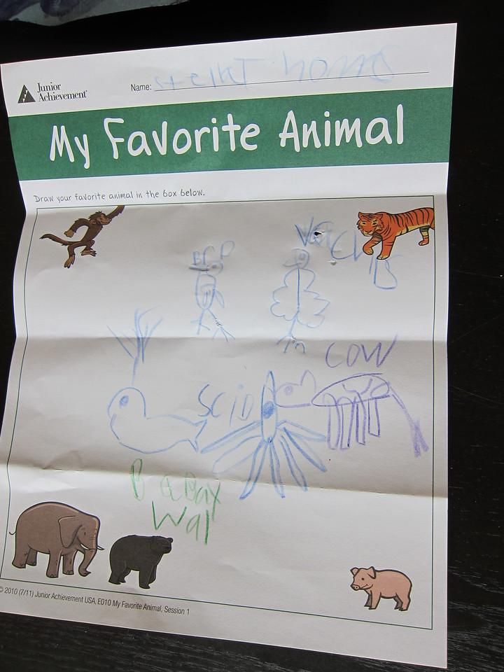 stella's favorite animals