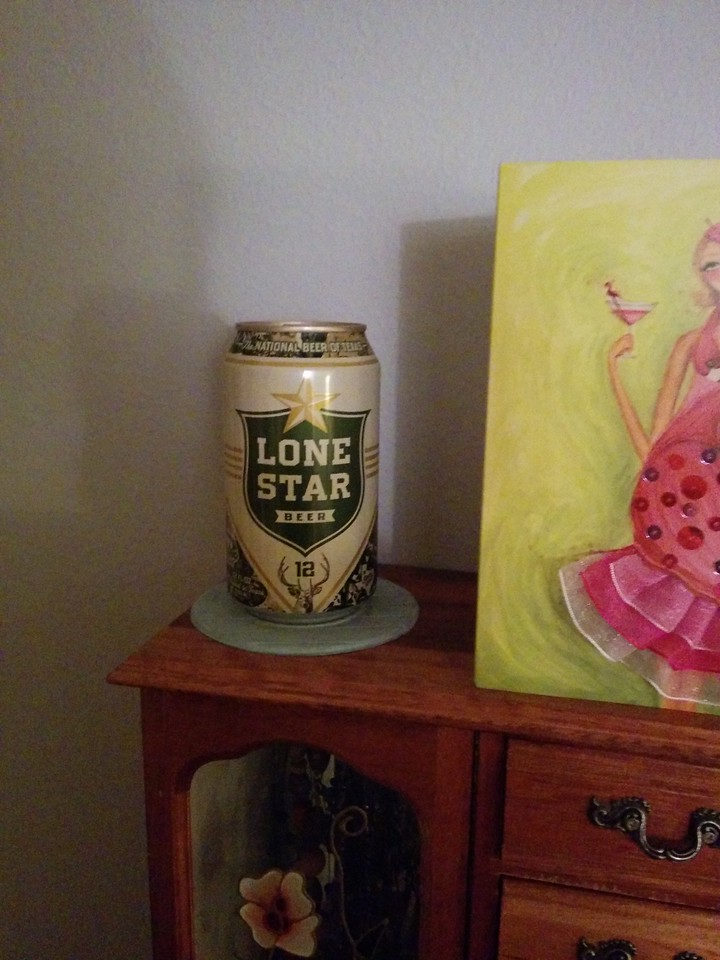 Found yet another can of Lone Star hidden by Brandon and Bill