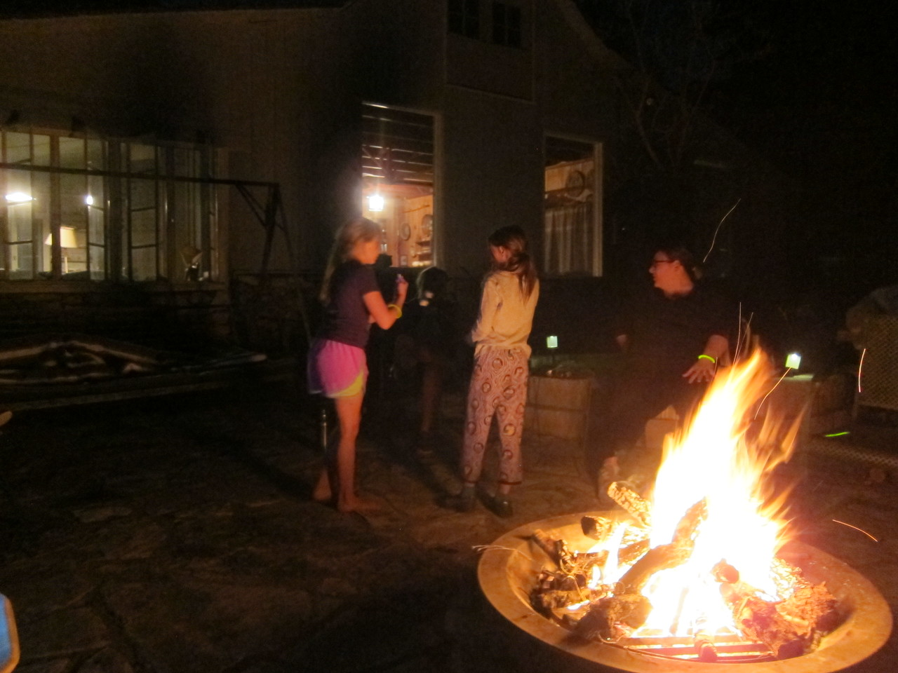 Fire and smores time!