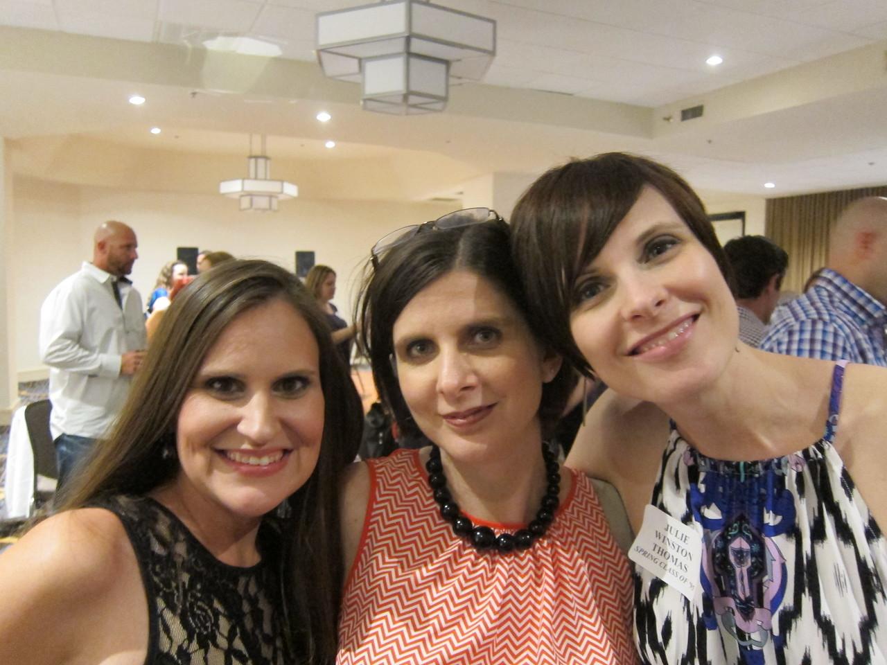 Susan, Danielle and I