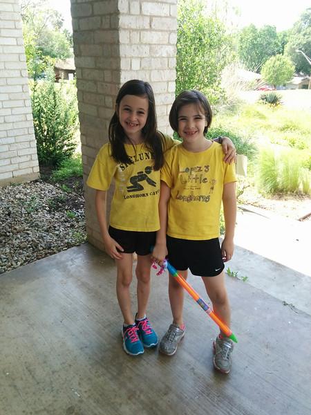 Savannah and Etta are twinsies!