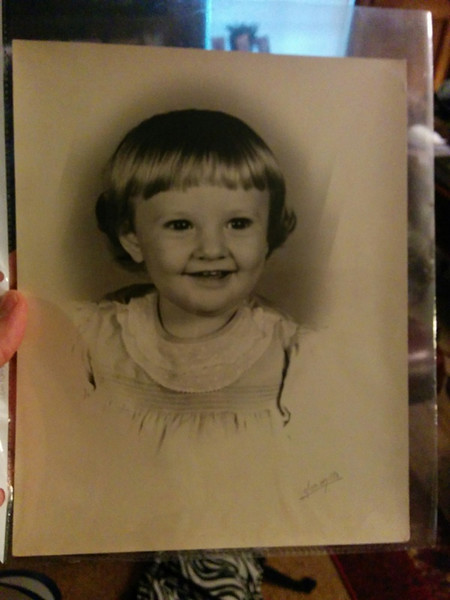 My Mom as an adorable little one