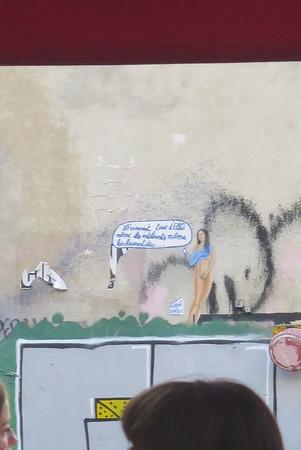 art-centric graffiti