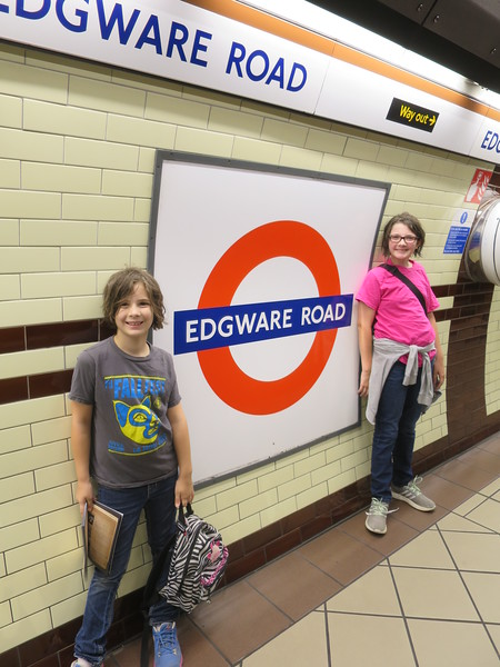 Our tube stop