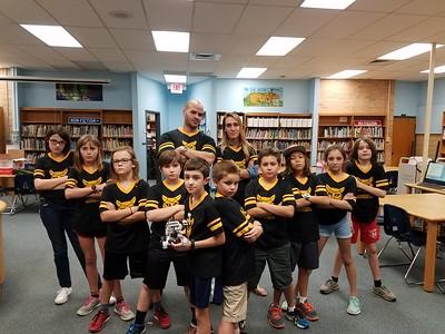 tough Becker Lego Robotics Team.  Watch out!