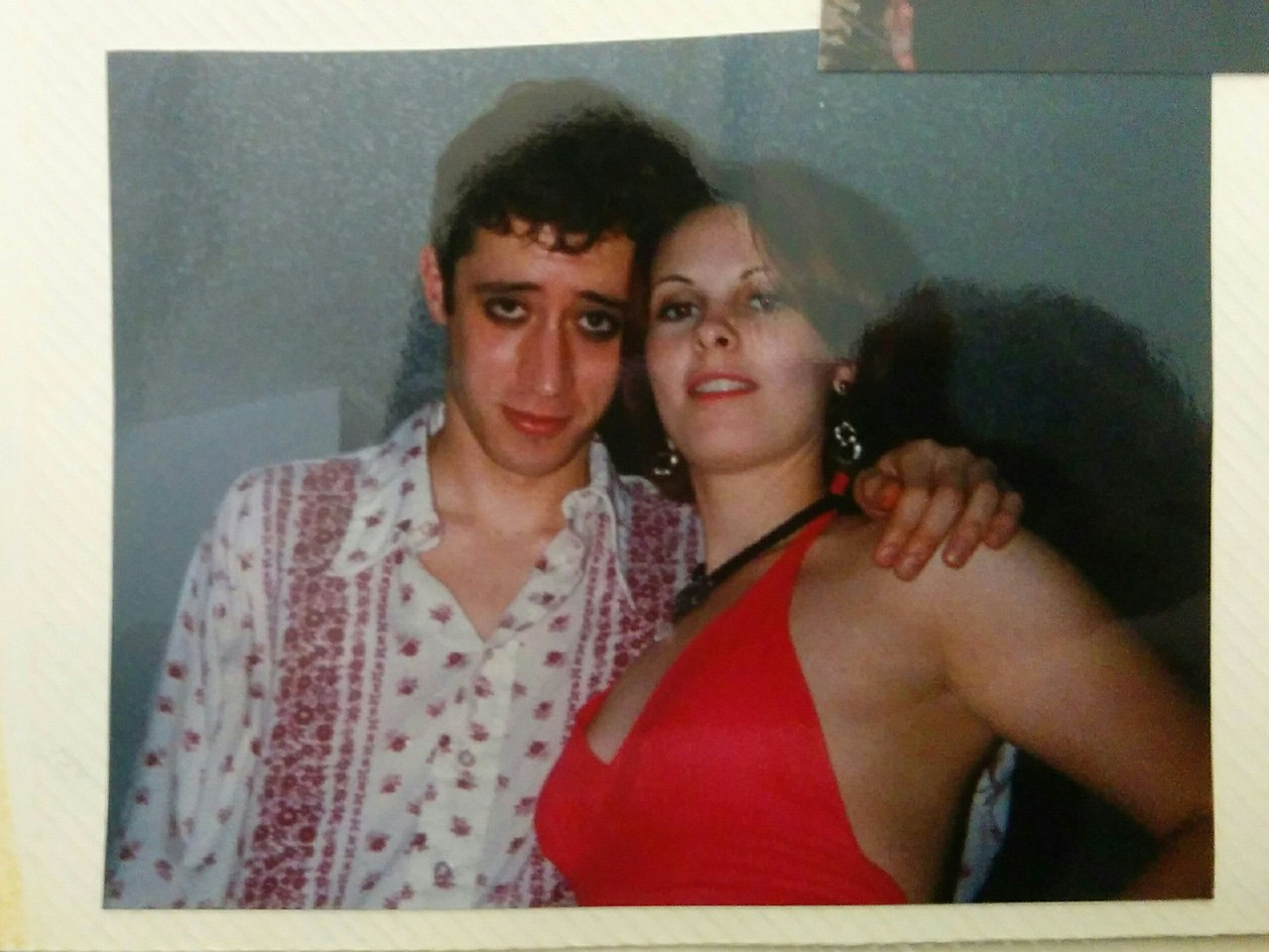 Our first photo together (Halloween 96)