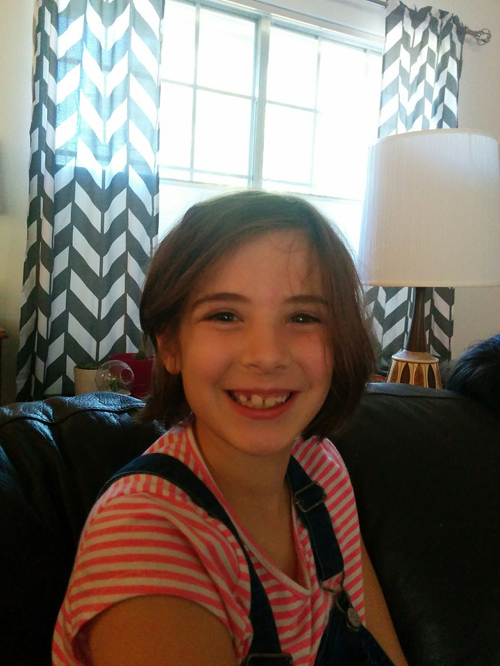 Etta loses another tooth!