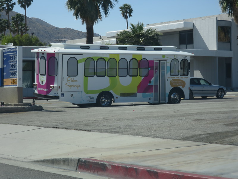 Even the buses are adorable