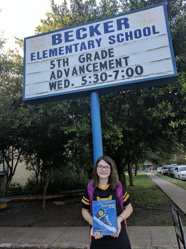 Goodbye Elementary!