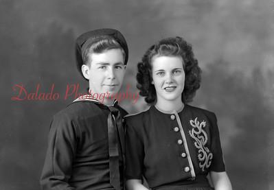 Fisher, George. Photo taken Dec. 5, 1944. 122 N. Beech, Mount Carmel.