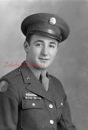 Frederick, Edward. Photo taken Dec. 18, 1944. 1245 Chestnut St., Kulpmont.