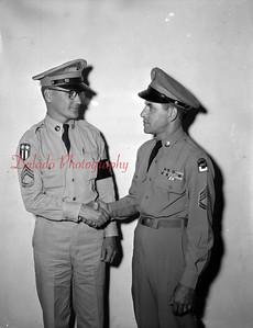 (June 1956) Servicemen.